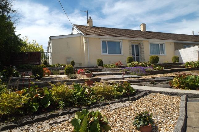 Thumbnail Semi-detached bungalow for sale in Coach Bach, Tredegar