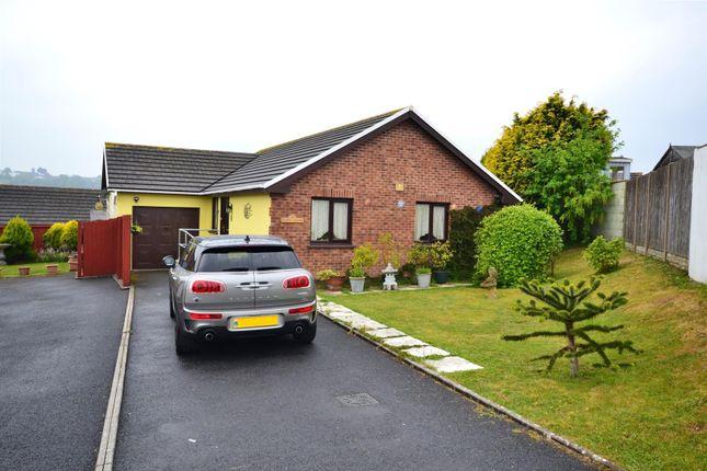Thumbnail Detached bungalow for sale in Donovan Reed Gardens, Pembroke Dock