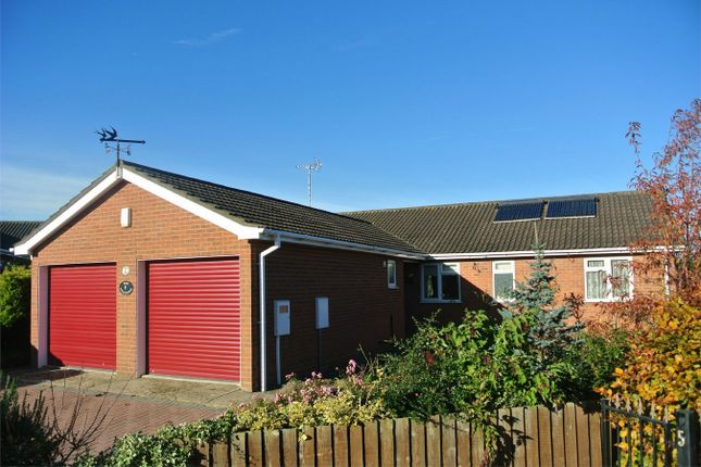 Thumbnail Detached bungalow for sale in Willow Drive, Bourne, Lincolnshire