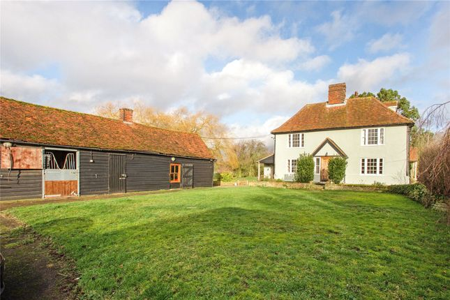 Thumbnail Property for sale in Little Laver Road, Matching Green, Harlow, Essex