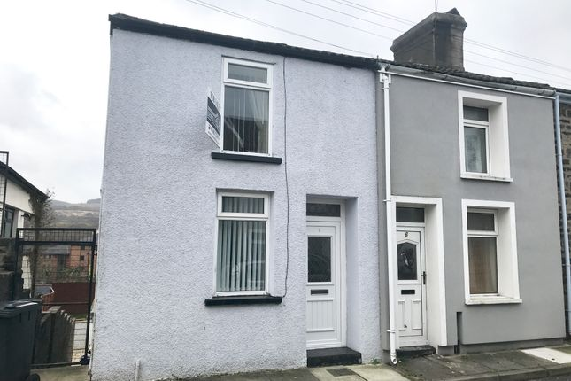 Thumbnail End terrace house for sale in Moriah Street, Morgantown, Merthyr Tydfil
