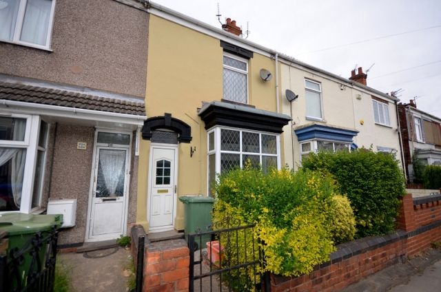 Thumbnail Terraced house to rent in Durban Road, Grimsby
