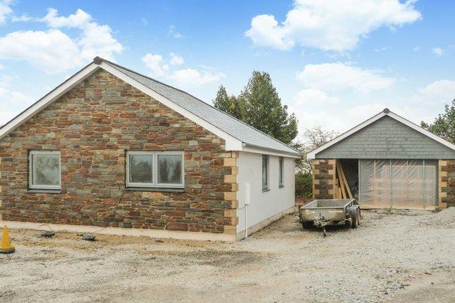 Thumbnail Detached bungalow for sale in Higher Tremar, Liskeard