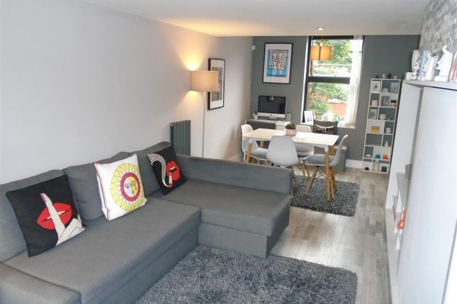 Living Room of Reservoir Street, Salford M6