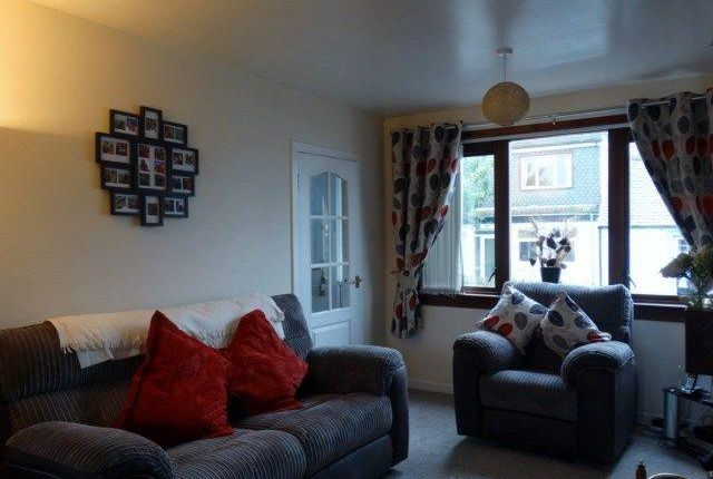 Thumbnail End terrace house to rent in High Road, Hightae, Lockerbie