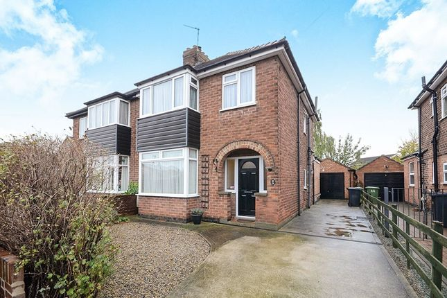 Thumbnail Semi-detached house for sale in Eastfield Avenue, Haxby, York