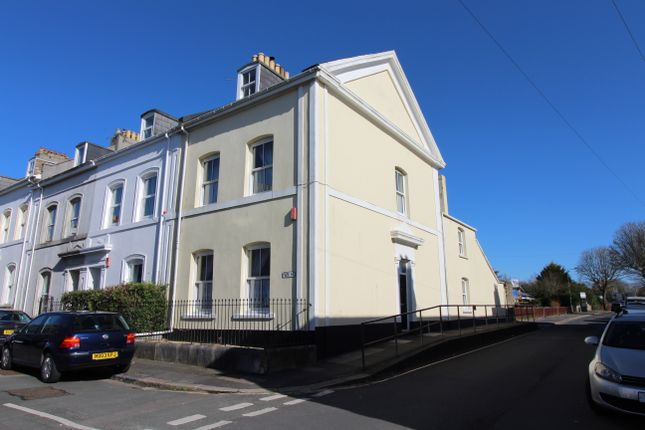 Thumbnail End terrace house for sale in Park Street, Stoke, Plymouth