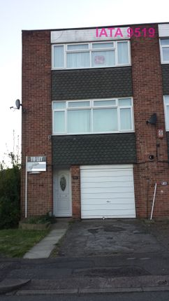 Thumbnail End terrace house to rent in Moriston Close, Corby