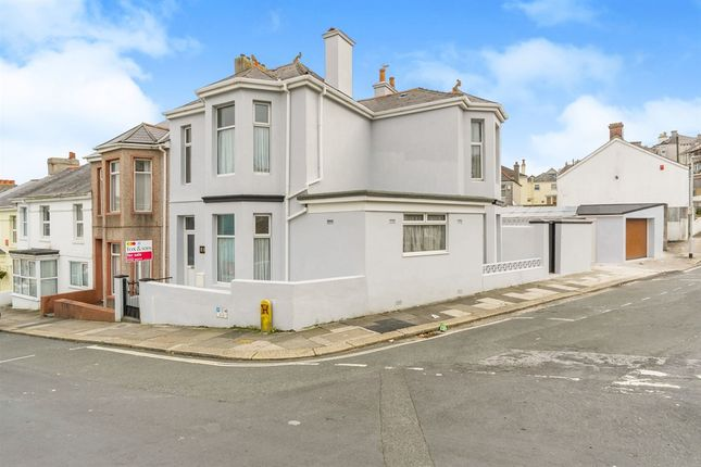 Thumbnail End terrace house for sale in West Hill Road, Mutley, Plymouth