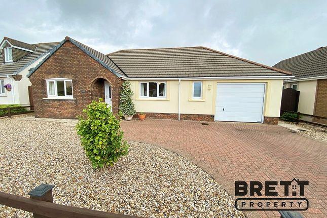 Thumbnail Detached bungalow for sale in Gibbas Way, Pembroke, Pembrokeshire.