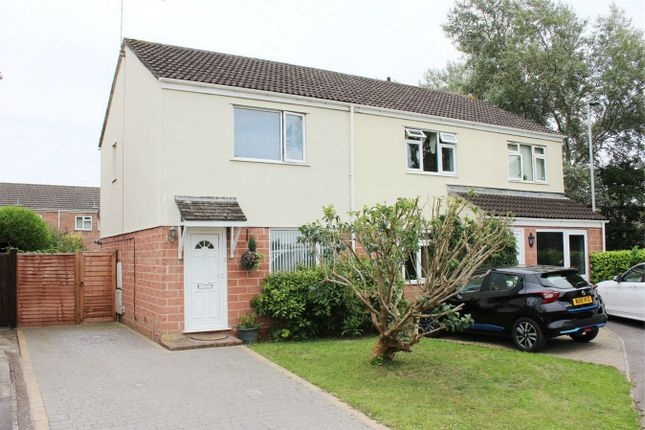 Thumbnail Semi-detached house for sale in Mallory Close, Staplegrove, Taunton, Somerset
