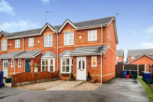 Thumbnail End terrace house for sale in Millcroft Close, Thorne, Doncaster
