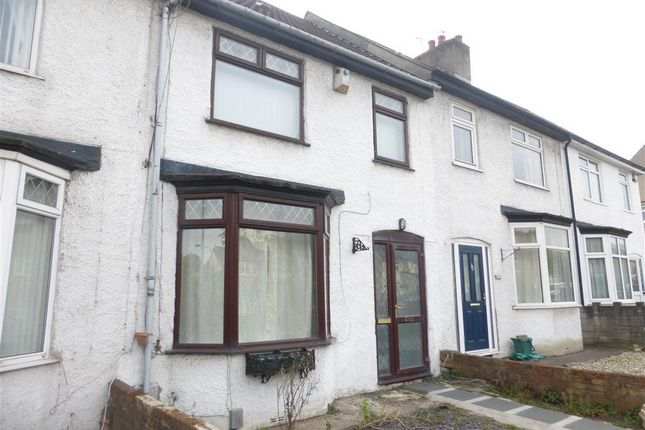 Thumbnail Terraced house to rent in Gladstone Road, Barry