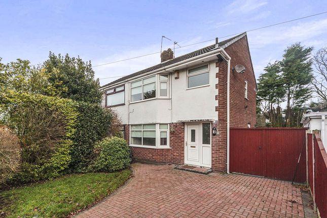 Thumbnail Semi-detached house for sale in Caxton Road, Rainhill, Prescot