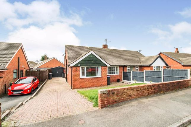 2 bed semi-detached bungalow for sale in Woodlands Avenue, Cheddleton ST13