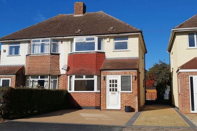 Thumbnail Semi-detached house to rent in Herschel Crescent, Littlemore, Oxford