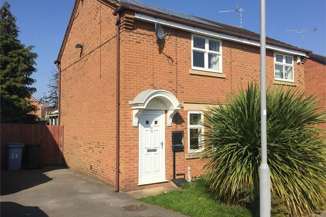 Thumbnail Semi-detached house to rent in Greenfinch Dale, Gateford, Worksop, Nottinghamshire