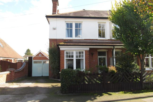 Thumbnail Semi-detached house for sale in The Avenue, Blaby, Leicester