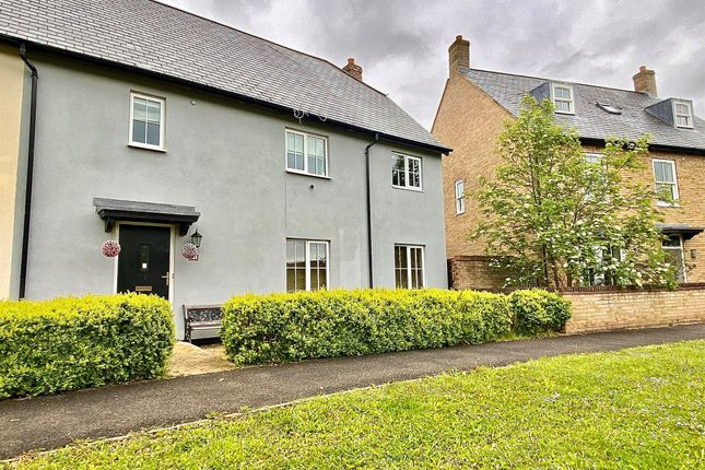 Thumbnail Semi-detached house for sale in Watergrove Lane, Great Cambourne, Cambridge