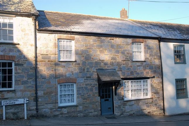 Thumbnail Cottage for sale in Fore Street, Lerryn, Lostwithiel