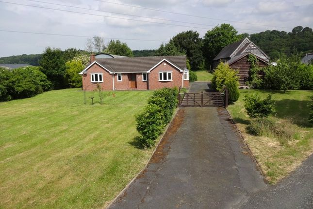 Thumbnail Bungalow for sale in Pool Road, Newtown, Powys