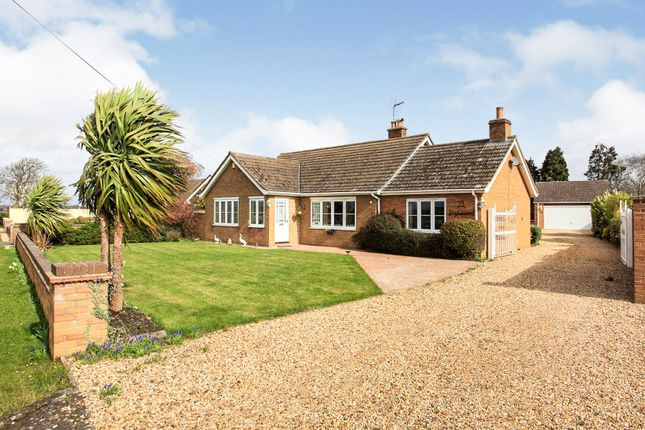 Thumbnail Detached bungalow for sale in Elton Road, Stibbington, Peterborough