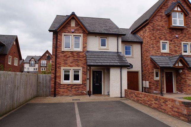Thumbnail Semi-detached house to rent in Richard James Avenue, Carlisle