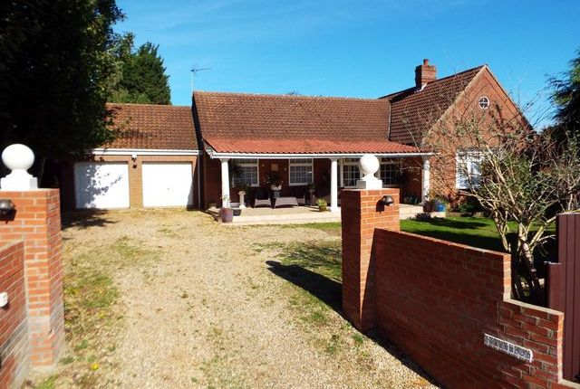 Thumbnail Detached house for sale in St. Andrews Lane, Necton, Swaffham