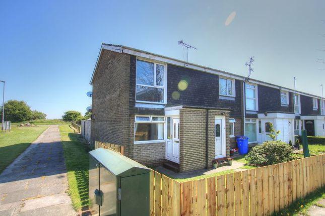 Thumbnail Flat to rent in Wreay Walk, Cramlington, Newcastle Upon Tyne