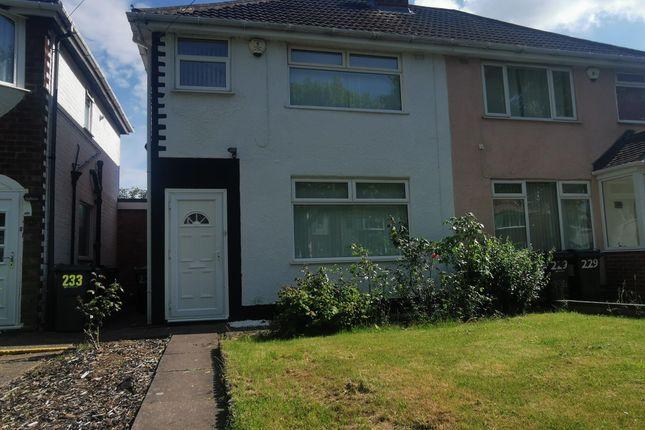 Thumbnail Property to rent in Cranes Park Road, Sheldon, Birmingham