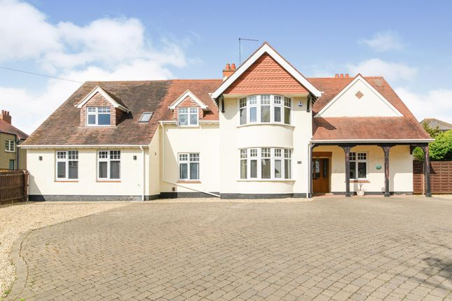 Thumbnail Detached house for sale in The Avenue, Spinney Hill, Northampton