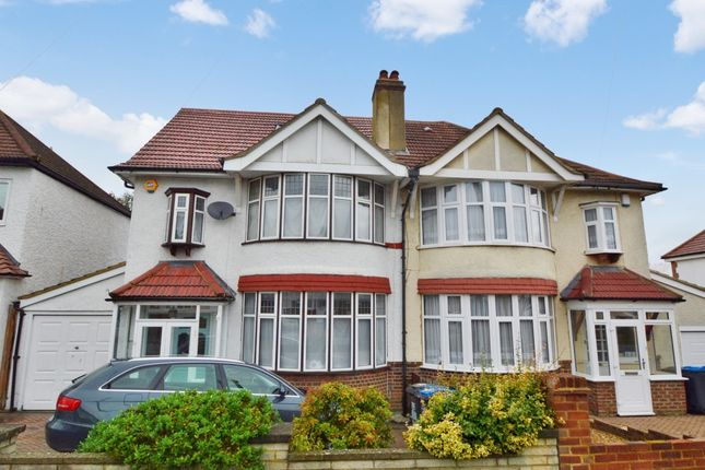 Thumbnail Semi-detached house for sale in Shirley Way, Croydon