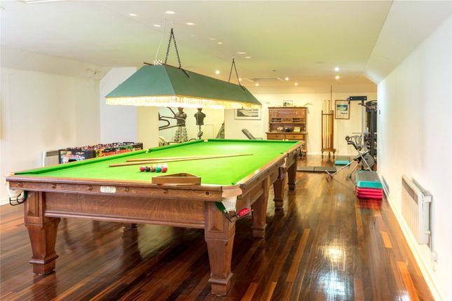 Billiards Room of Boquhan House, Boquhan, Stirling FK8