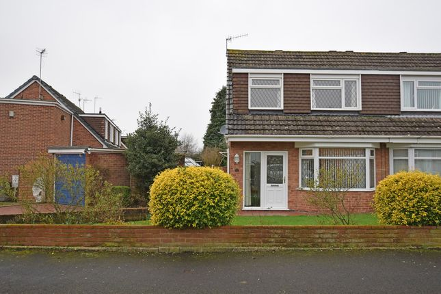 Thumbnail Semi-detached house for sale in Hazeldene Road, Trentham, Stoke-On-Trent