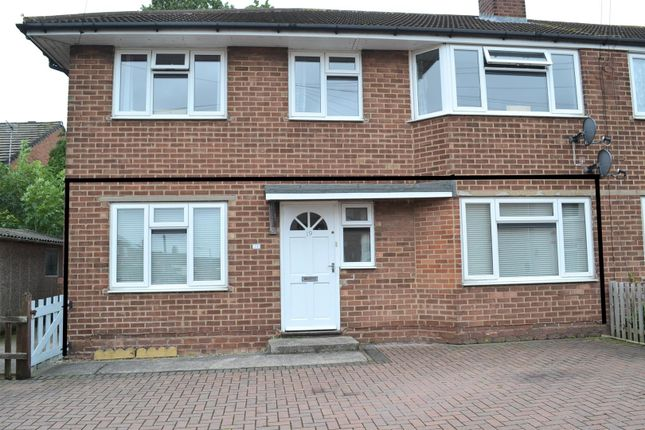 Thumbnail Maisonette for sale in The City, Woodville, Swadlincote