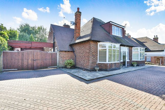 Thumbnail Detached bungalow for sale in Derby Road, Eastwood, Nottingham