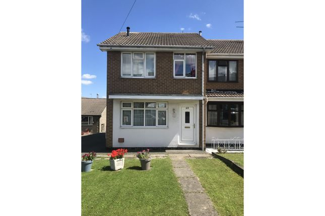 3 bed end terrace house to rent in North Wingfield Road, Chesterfield S42