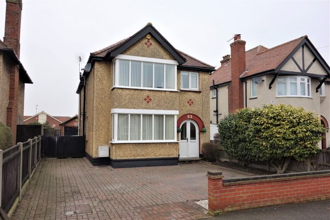 Thumbnail Detached house for sale in Corton Road, Lowestoft