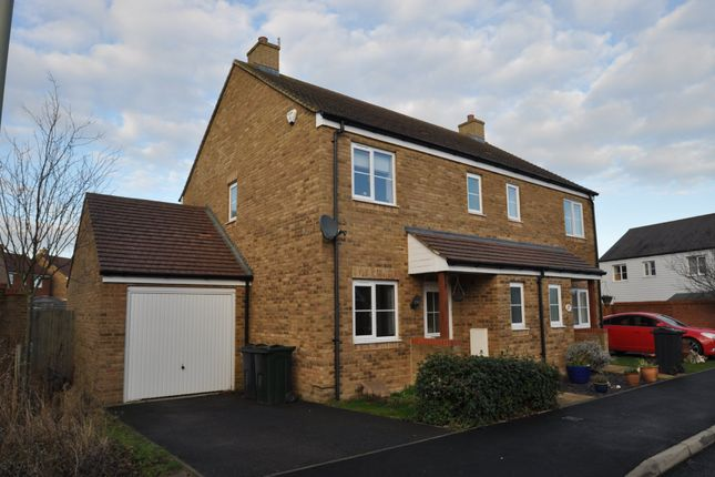 Thumbnail Semi-detached house to rent in Jacobs Court, Kingsnorth, Ashford