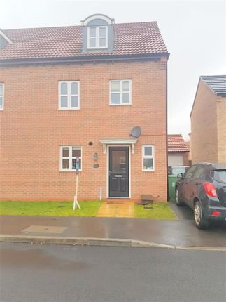 Thumbnail Town house to rent in Pearl Gardens, Warsop, Mansfield