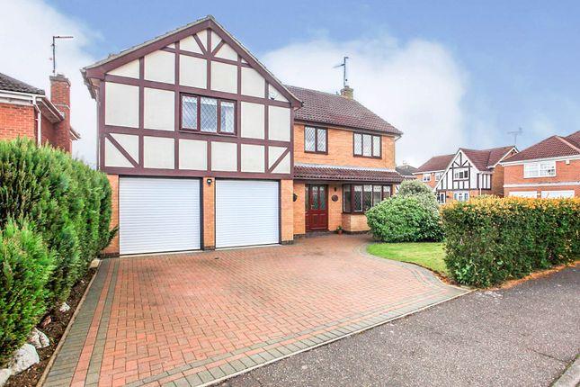 Thumbnail Detached house for sale in Huntsmans Gate, South Bretton, Peterborough