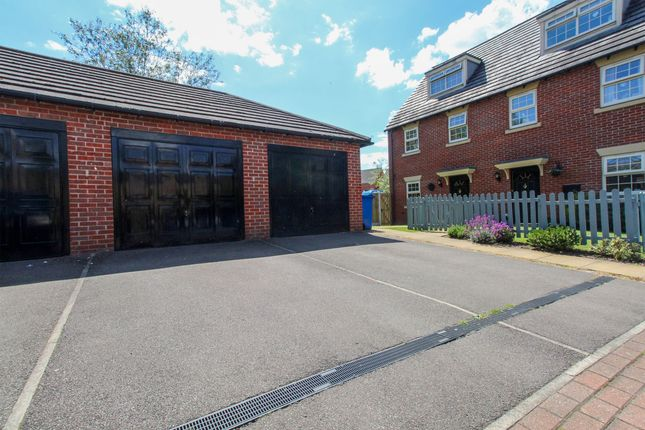 Front Garage of Hartfield Court, Hasland, Chesterfield S41