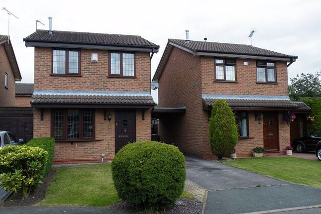 Thumbnail Detached house to rent in Elmstead Crescent, Leighton, Crewe