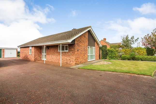 Thumbnail Detached bungalow for sale in Mill Close, Pulham Market, Diss