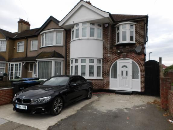Thumbnail End terrace house for sale in Windmill Road, Edmonton, London