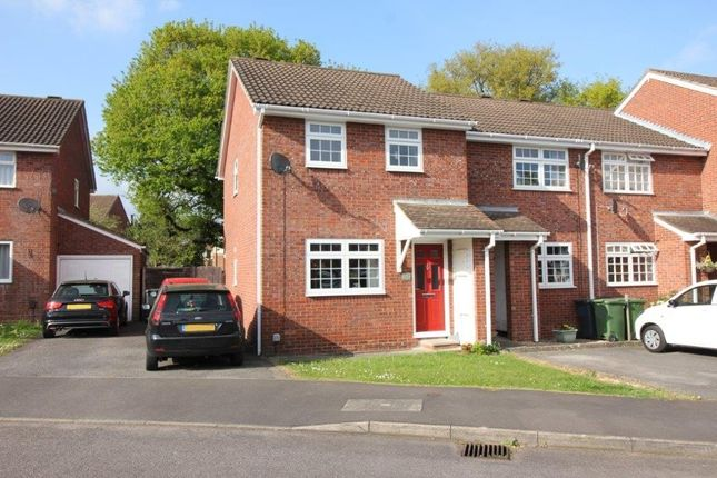 Thumbnail End terrace house for sale in Cudworth Mead, Hedge End, Southampton
