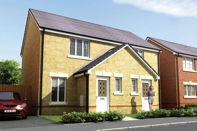 2 bedroom link-detached house for sale in St Llids Meadow, Pontyclun, Rhondda Cynon Taff