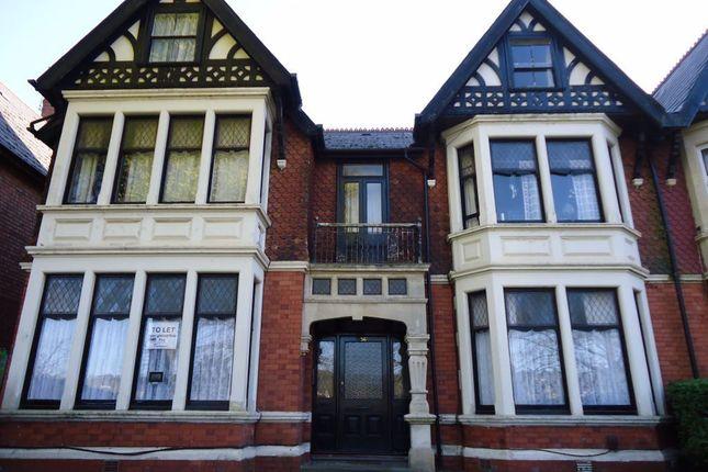 Thumbnail Studio to rent in Ninian Road, Roath, Cardiff