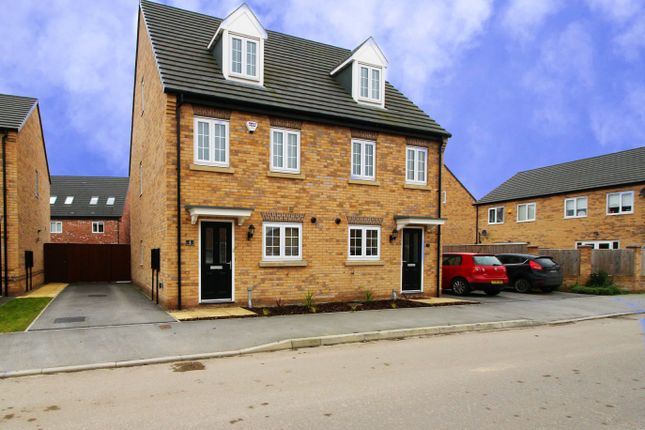 Thumbnail Semi-detached house for sale in Meadow Lane, Auckley, Doncaster