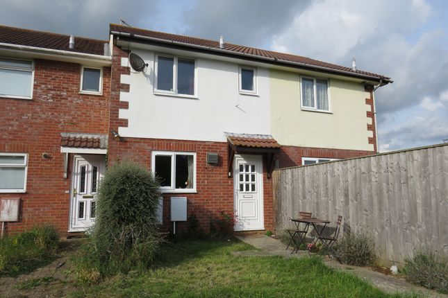 Thumbnail Terraced house for sale in Sanderling Close, Weymouth